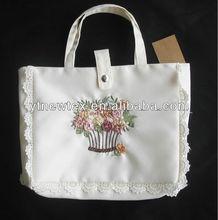 2014 new products hand work solid flower handbag