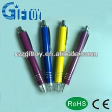 led promotional aluminium metal ballpen