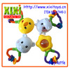 2014 funny baby toys non-toxic safety rattle toys for baby