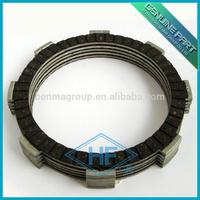 HF BM Motorcycle clutch disc/Clutch fiber with unique 103 clutch disc material.