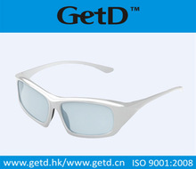 Repeatable polarized 3d glasses with light weight fit for cinema and TV---CP400G64R