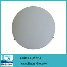 CE listed Mushroom Glass Flush Mount Ceiling Light Fluorescent Office Ceiling Light Fixture