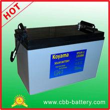 100AH solar battery, storage solar battery, solar panel battery