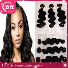 Raw unprocessed 5a grade cheap 100% brazilian virgin hair