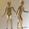 New golden fashion lifelike hot children models