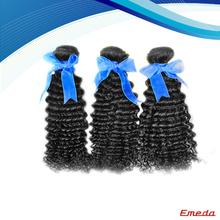 2014 top grade aaaaa+ virgin indian deep curly hair weft sealer