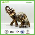 golden resina jardim estátua escultura de elefante