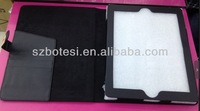 Factory !! fashion pu leather monkey case,filp leather case ,for mickey mouse ipad mini case