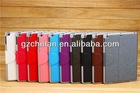 Sky blue premium leather smart cover for apple ipad air