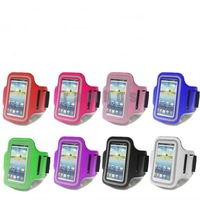 Velcro Reflective Sport Armband Case for Running for Samsung Galaxy S4 Mini i9500