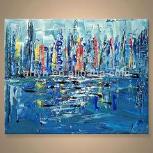 Hot Sell Handmade Cheap Modern European Abstract Art Painting