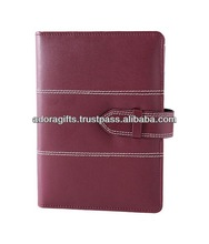 special custom business planner / cheap & widely used 2015 diary planner / hot seller soft leather planner
