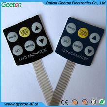 Custom 3*2 Matrix 3M Adhesive Waterproof Membrane keypad