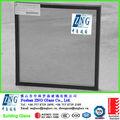 Cinza claro cor low-E revestido temperado duplo duplas de vidro para janelas e portas com AS 2208 & ccc certificação