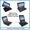 LBK115 360 Degree Rotating mini Wireless Bluetooth ipad Keyboard for apple 2 3 4 New ipad