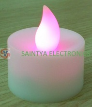 Flicker Light Flameless LED Tealight Party&Wedding Romantic Tealight Candle