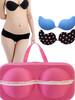 fashion, elegent bra panty bag,underwear bra bag,brief bra case bag