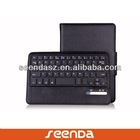 Classic Black PU Detachable wireless keyboard case for IPAD MINI 2