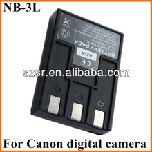 For Canon NB-3L Rechargeable Battery Pack for SD550,SD500 Digital Cameras