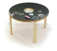 Children chalkboard table/chalkboard table for kids KF-J1