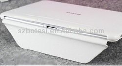 Factory !! case PU leather flip wallet cover , tablet leather case for samsung galaxy tab 2 p5100