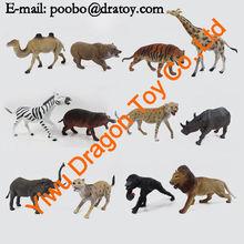 bulk zoo animal set toy made in china