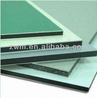 aluminium plastic partition wall panel