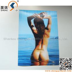 3D lenticular Beautiful Girl Sex Picture