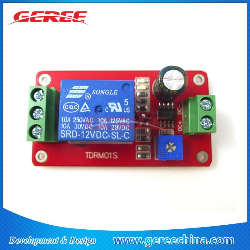 Relaismodul einschaltverzögerung ne555 modul 12v timer 0-20s