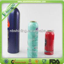 Bullet shape aluminum 16oz aerosol can
