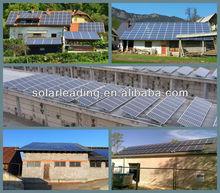 Plus tolerance output.Monocrystalline Solar Panel 250w