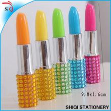 free samples shiny rhinestone lipstick pen