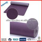 Anti-skid thick rubber pilates yoga mat/exercise mat