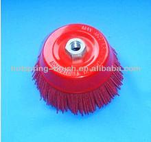 abrasive nylon cup brushes
