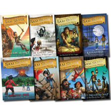 Sam Silver Undercover Pirate Series Collection 8 Books Set Ghost Ship, Kidnapped