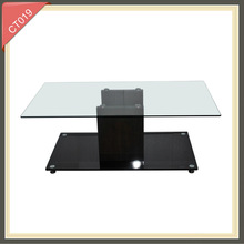 living room furniture centre glass table novelty coffee table CT019