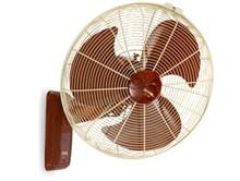 """18"""" 20"""" 22"""" Oak Wood Wall Mounted Oscillating Plastic Bracket Fan"""