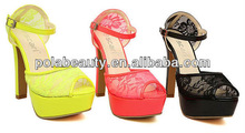 china wholesale platform shoes beautiful high heels PS2335