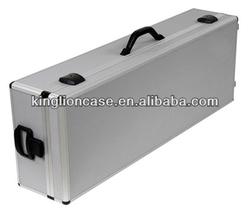 hard plywood two handle round aluminum case KL-TC037