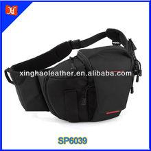 550D 600D DSLR Camera Bag Waterproof Camera Bag Black Nylon Messenger Bag