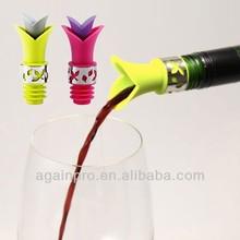 Creative Lavender Shape Silicone Wine Poure