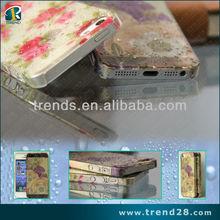 super price rose design pc phone case for iphone 5 5s