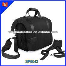 2015 Camera Business Casual Shoulder Backpack Trendy DSLR Camera Bags Black Nylon Bag