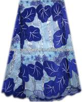 unique design net fabric velvet organza lace