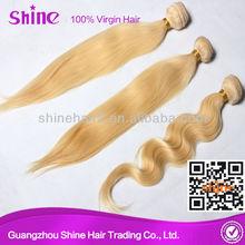 straight blonde hair chrismas gift