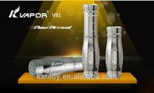 Kvapor V81 mech mod use 18650/18350 battery ecig