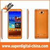 Cheapest 6 inch MT6589 Quad core Smart Phone,quad core Smartphone with 3G GPS