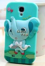 Cute cartoon animal design soft cover case for Samsung Galaxy S4 i9500