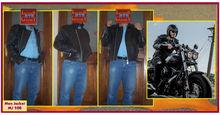 Genuine Leather Jacket for motorbikes
