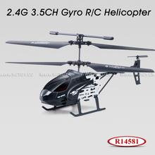 DIY 3CH Gyro Mini Remote Control Airplanes R14581